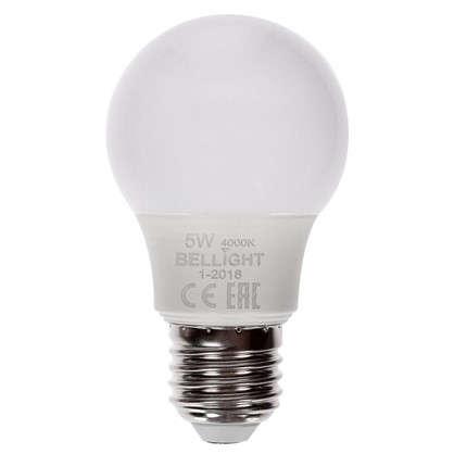 Купить Светодиодная лампа Bellight A55 E27 5 Вт 400 Лм свет холодный белый дешевле