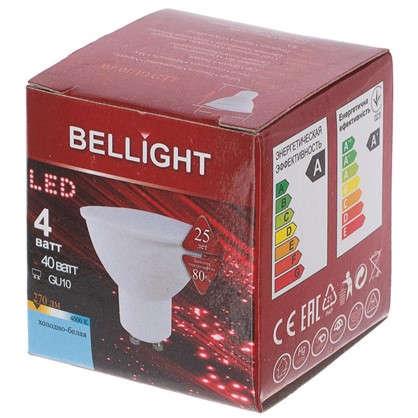 Светодиодная лампа Bellight MR16 GU10 4Вт 270 Лм свет холодный белый