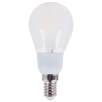 Светодиодная лампа диммируемая Osram Шар E14 5 Вт 470 Лм свет теплый белый матовая колба