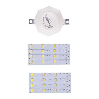 Купить Лампа светодиодная для светильника настенно-потолочного до 180 мм 12 Вт свет теплый белый дешевле