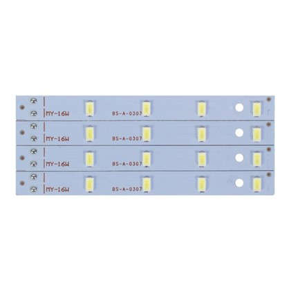 Лампа светодиодная для светильника настенно-потолочного до 220 мм 16 Вт свет холодный белый