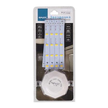 Купить Лампа светодиодная для светильника настенно-потолочного до 220 мм 16 Вт свет теплый белый дешевле