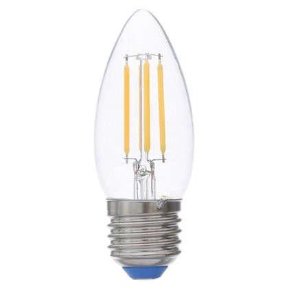 Светодиодная лампа филаментная Airdim форма свеча E27 5 Вт 500 Лм свет теплый