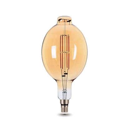 Купить Лампа светодиодная Gauss Е27 8 Вт овал прямой свет теплый дешевле