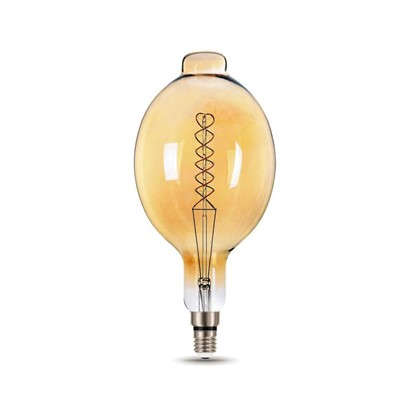 Купить Лампа светодиодная Gauss Е27 8 Вт овал спираль свет теплый дешевле