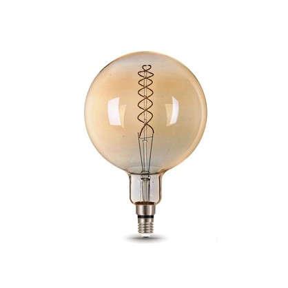 Купить Лампа светодиодная Gauss Е27 8 Вт шар спираль свет теплый дешевле