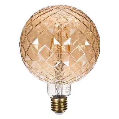 Купить Лампа светодиодная Gauss Filament Carat E27 4 Вт 380 Лм свет теплый белый дешевле