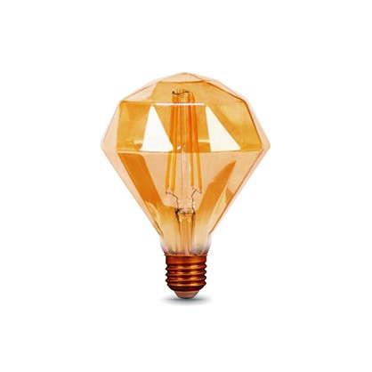 Купить Лампа светодиодная Gauss Filament Diamond E27 5 Вт 450 Лм свет теплый белый дешевле