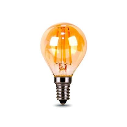 Купить Лампа светодиодная Gauss Filament Globe E14 5 Вт 400 Лм свет теплый белый дешевле