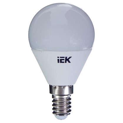 Светодиодная лампа IEK G45 Шар E14 7 Вт 3000К свет теплый белый