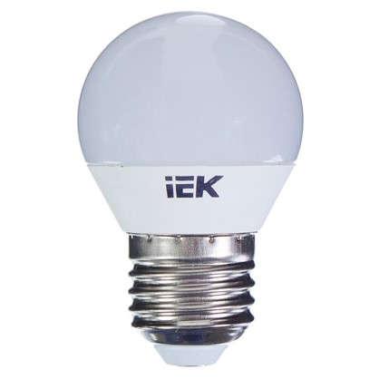 Светодиодная лампа IEK Шар G45 E27 7 Вт 230 В 3000 К свет теплый белый