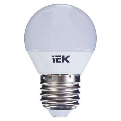 Светодиодная лампа IEK Шар G45 E27 7 Вт 230 В 4000 К свет холодный белый