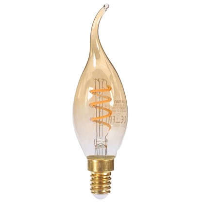 Купить Лампа светодиодная Lexman E14 25 Вт свет янтарный дешевле