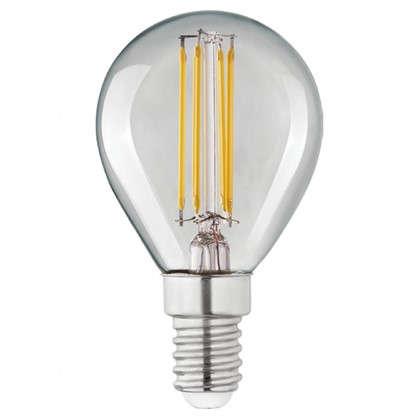 Светодиодная лампа Lexman E14 45 Вт 470 Лм 4000 K свет нейтральный прозрачная колба