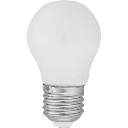 Светодиодная лампа Lexman E27 45 Вт 470 Лм 2700 K свет теплый белый матовая колба