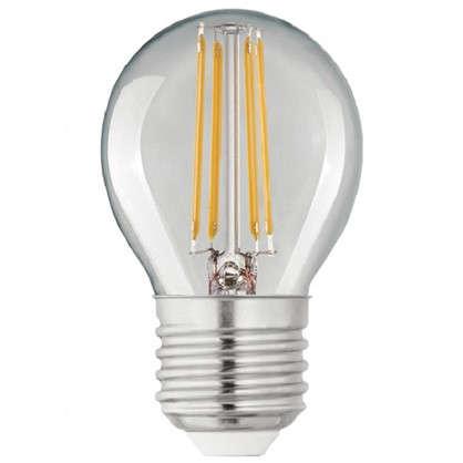 Светодиодная лампа Lexman E27 45 Вт 470 Лм 4000 K свет нейтральный прозрачная колба