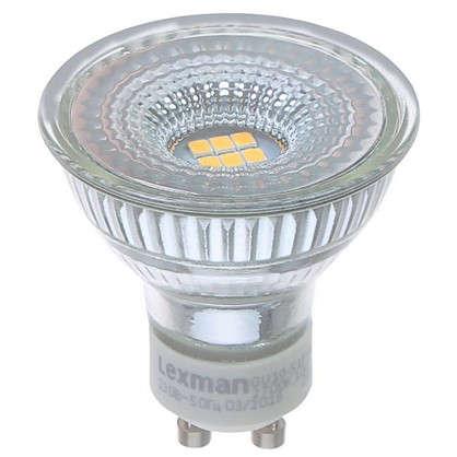 Светодиодная лампа Lexman GU10 5 Вт 460 Лм 2700 K свет теплый белый