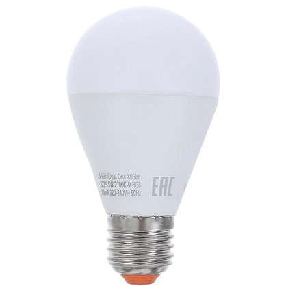 Светодиодная лампа Lexman iDual One E27 9.5 Вт 806 Лм RGBW с пультом ДУ