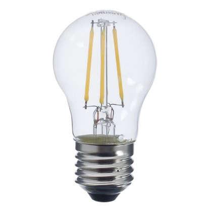 Светодиодная лампа Lexman шар E27 4 Вт 470 Лм свет холодный белый