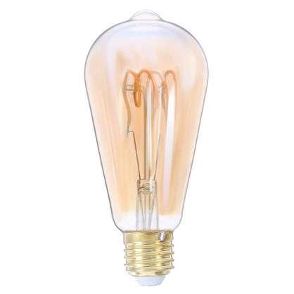 Купить Лампа светодиодная Lexman ST64 E27 5 Вт свет янтарный дешевле
