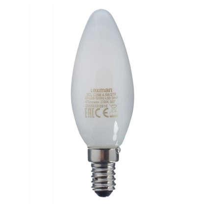 Светодиодная лампа Lexman Свеча E14 4.5 Вт 470 Лм свет теплый белый