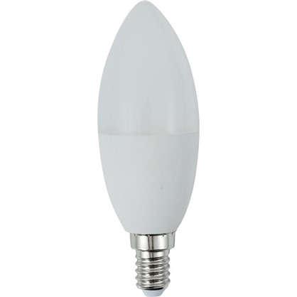 Светодиодная лампа Osram E14 220 В 8 Вт свеча 4 м² свет теплый белый