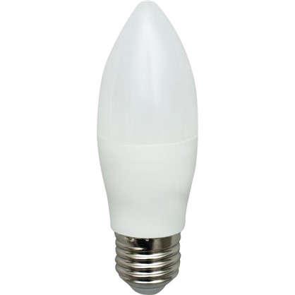 Светодиодная лампа Osram E27 220 В 8 Вт свеча 4 м² свет холодный белый