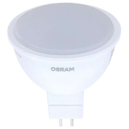 Светодиодная лампа Osram GU5.3 3.4 Вт 300 Лм свет холодный белый матовая колба