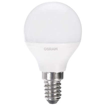 Светодиодная лампа Osram Шар E14 6.5 Вт 550 Лм свет холодный белый