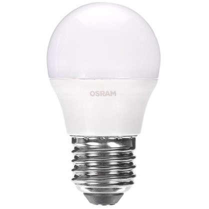 Светодиодная лампа Osram Шар E27 6.5 Вт 550 Лм свет холодный белый