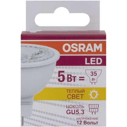 Светодиодная лампа Osram спот GU5.3 5 Вт 350 Лм свет теплый белый