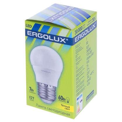 Светодиодная лампа Шар E27 7Вт