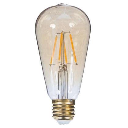 Купить Лампа светодиодная Uniel Vintage конус E27 5 Вт 450 Лм свет теплый белый дешевле