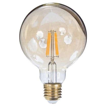 Купить Лампа светодиодная Uniel Vintage шар E27 6 Вт 510 Лм свет теплый белый дешевле