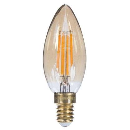 Светодиодная лампа Uniel Vintage свеча E14 5 Вт 420 Лм свет теплый белый