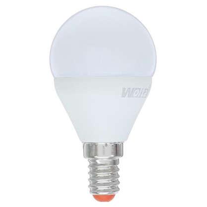Светодиодная лампа Wolta шар E14 8 Вт свет нейтральный белый 5 шт.