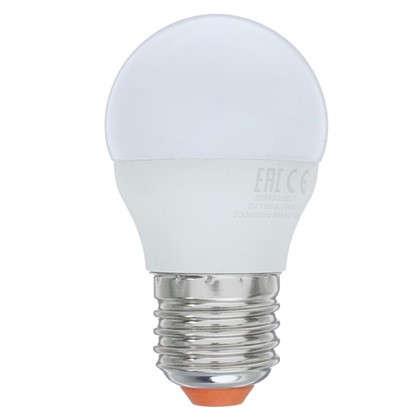 Купить Светодиодная лампа Wolta шар E27 8 Вт свет нейтральный белый 5 шт. дешевле