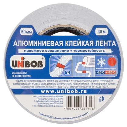 Лента алюминевая Unibob 50 мм х 40 м