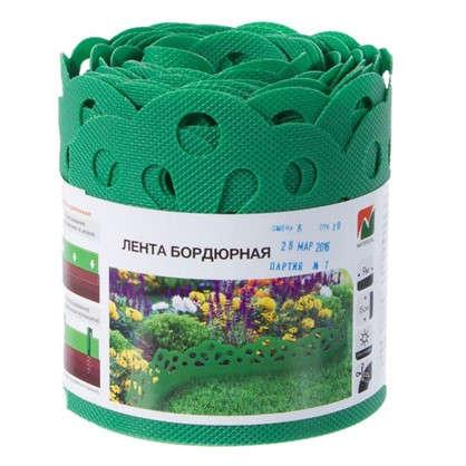 Купить Лента бордюрная декоративная Naterial высота 15 см цвет зеленый дешевле