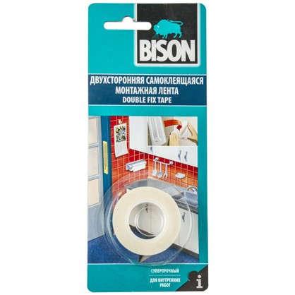 Купить Лента для зеркал Bison Doublefix 19 мм х 1.5 м дешевле