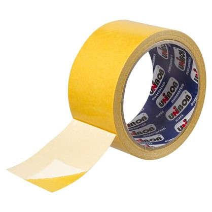 Купить Лента двусторонняя тканевая Unibob 50 мм х 10 м дешевле
