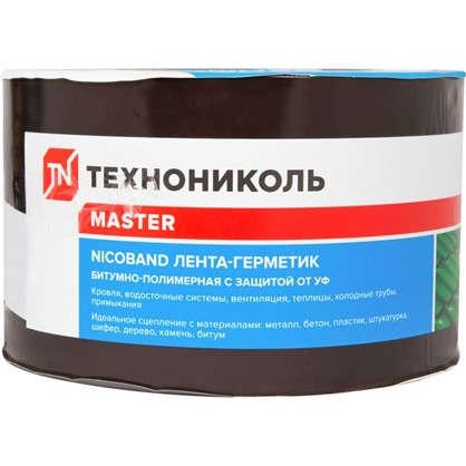 Купить Лента-герметик Никобенд 10х01 м цвет коричневый дешевле