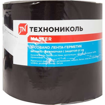 Лента-герметик Никобенд 10х015 м цвет коричневый