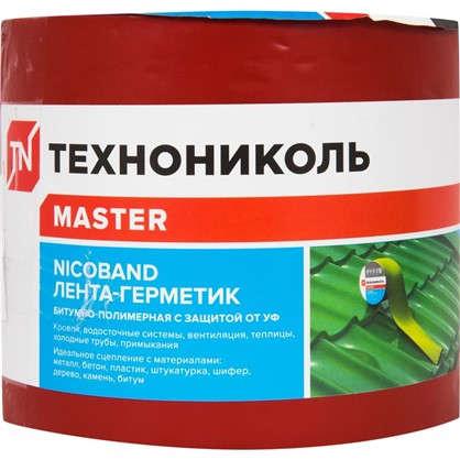 Купить Лента-герметик Никобенд 3х01 м цвет красный дешевле