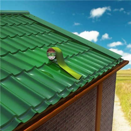 Лента-герметик Никобенд 3х01 м цвет зелёный