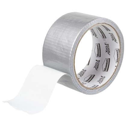 Купить Лента хозяйственная Момент 48 мм х 10 м цвет серебристый дешевле