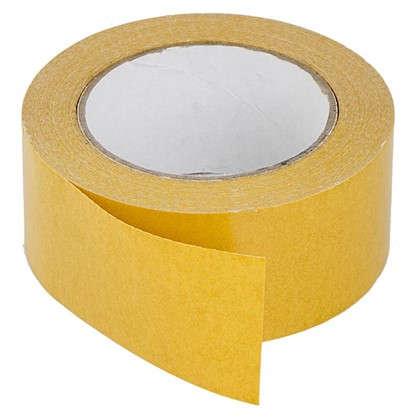 Лента клейкая двухсторонняя 0.05 мм х 25 м для укладки напольных покрытий
