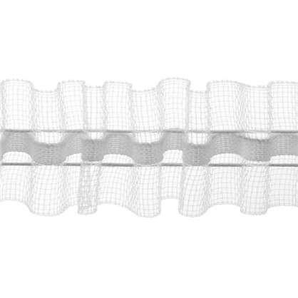 Шторная лента 250 мм цвет прозрачный