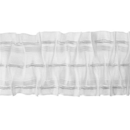 Шторная лента 750 мм цвет прозрачный/матовый