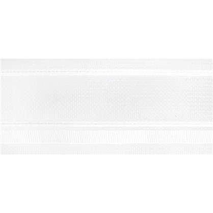 Шторная лента бантовая 54 мм цвет белый